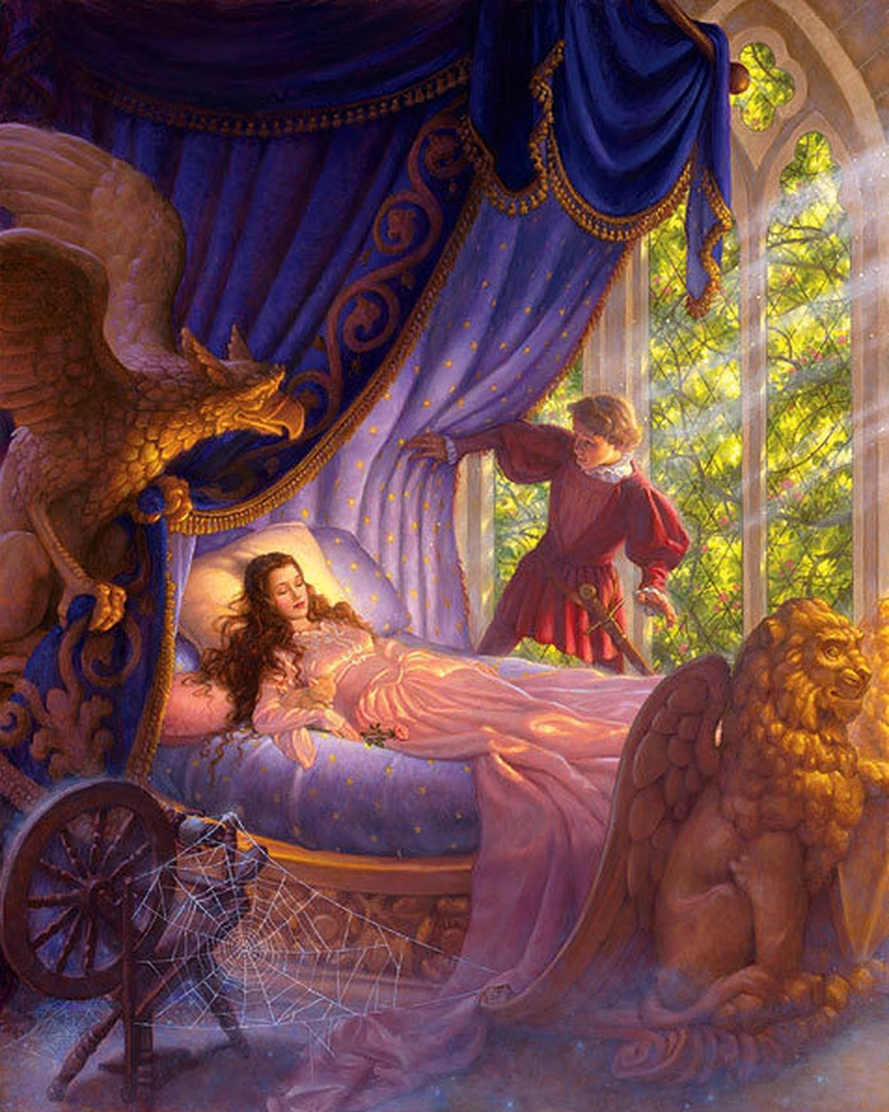 Fairy tales have a lot to teach children about life, and make them smart