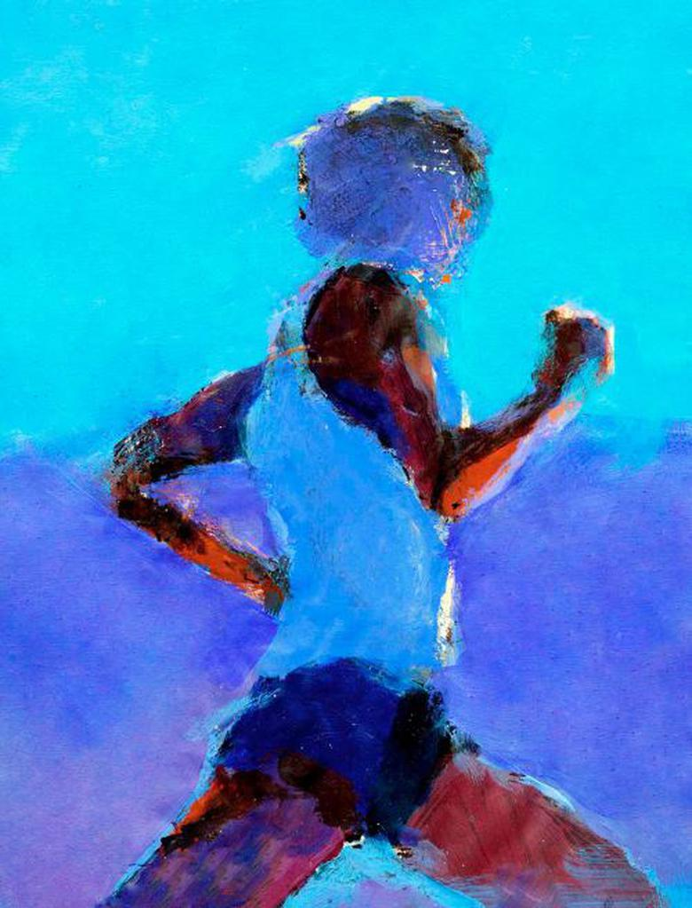 Running is mankind's first fine art