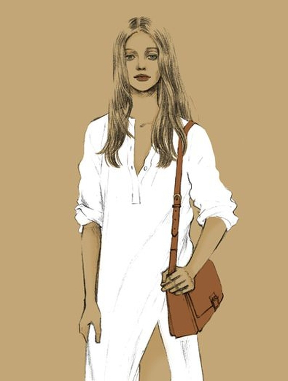 We should wear white so that we never forget the importance of cleanliness.