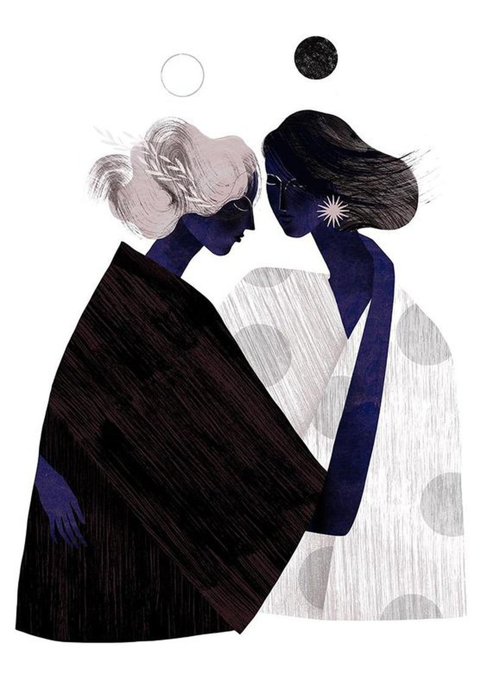Amour et amitié s'entremêlent imperceptiblement