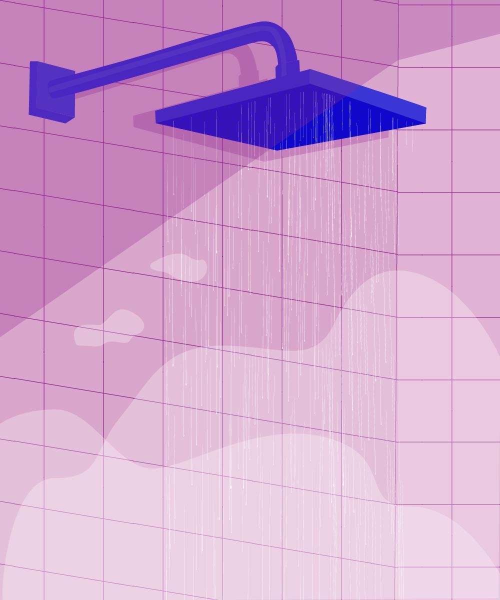 C'est lors d'une douche chaude que vos meilleures idées peuvent naître