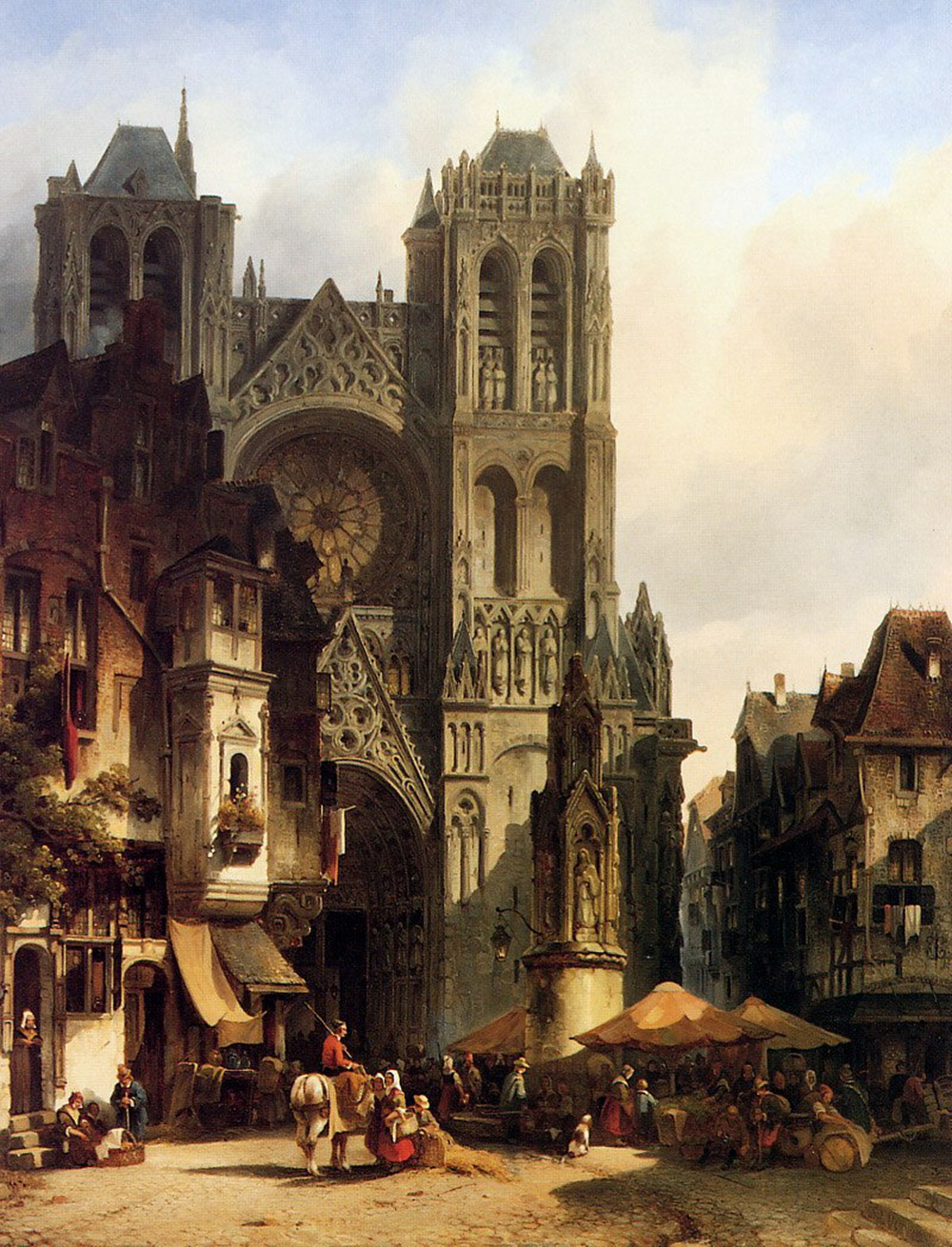 Medieval cities have souls