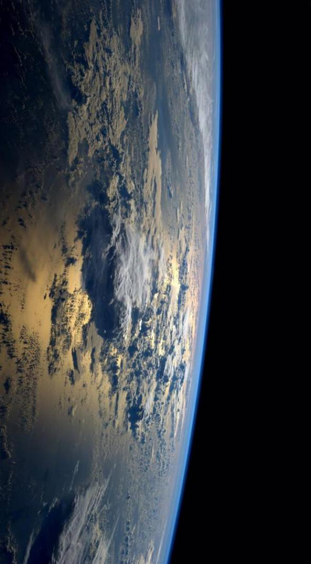 Going into the outer space has given us a new perspective about who we are