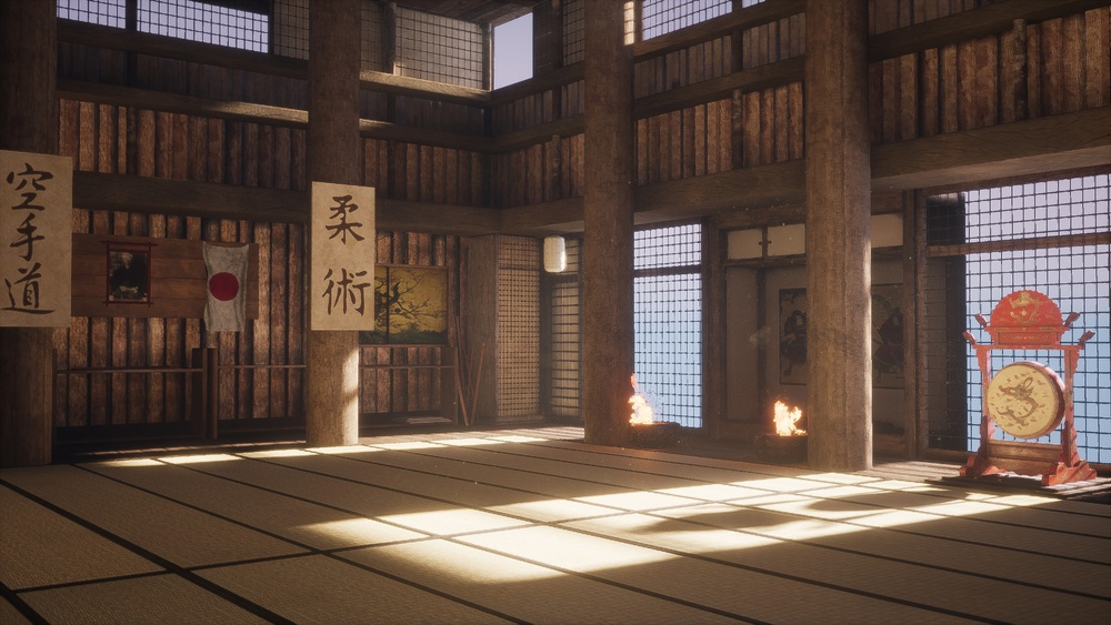 A dojo is a miniature cosmos where we make contact with ourselves