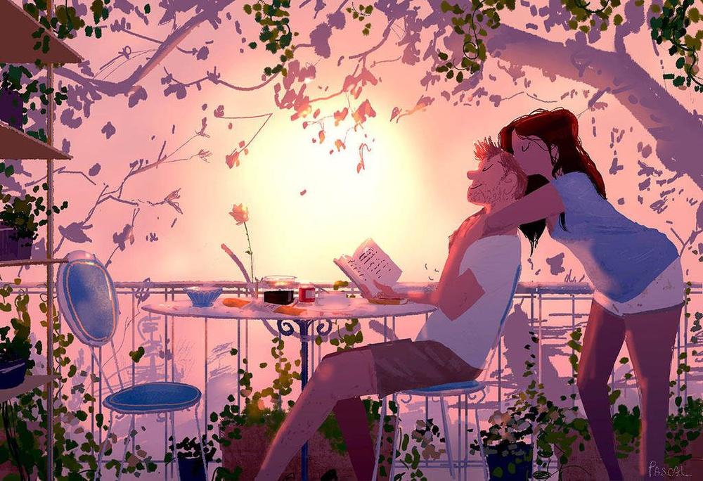 Quand on aime, on s'efforce toujours de devenir meilleur que ce que l'on est