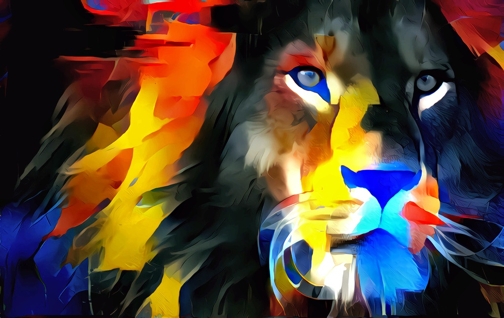 You can be a Lion, and still have a fast beating heart when danger approaches