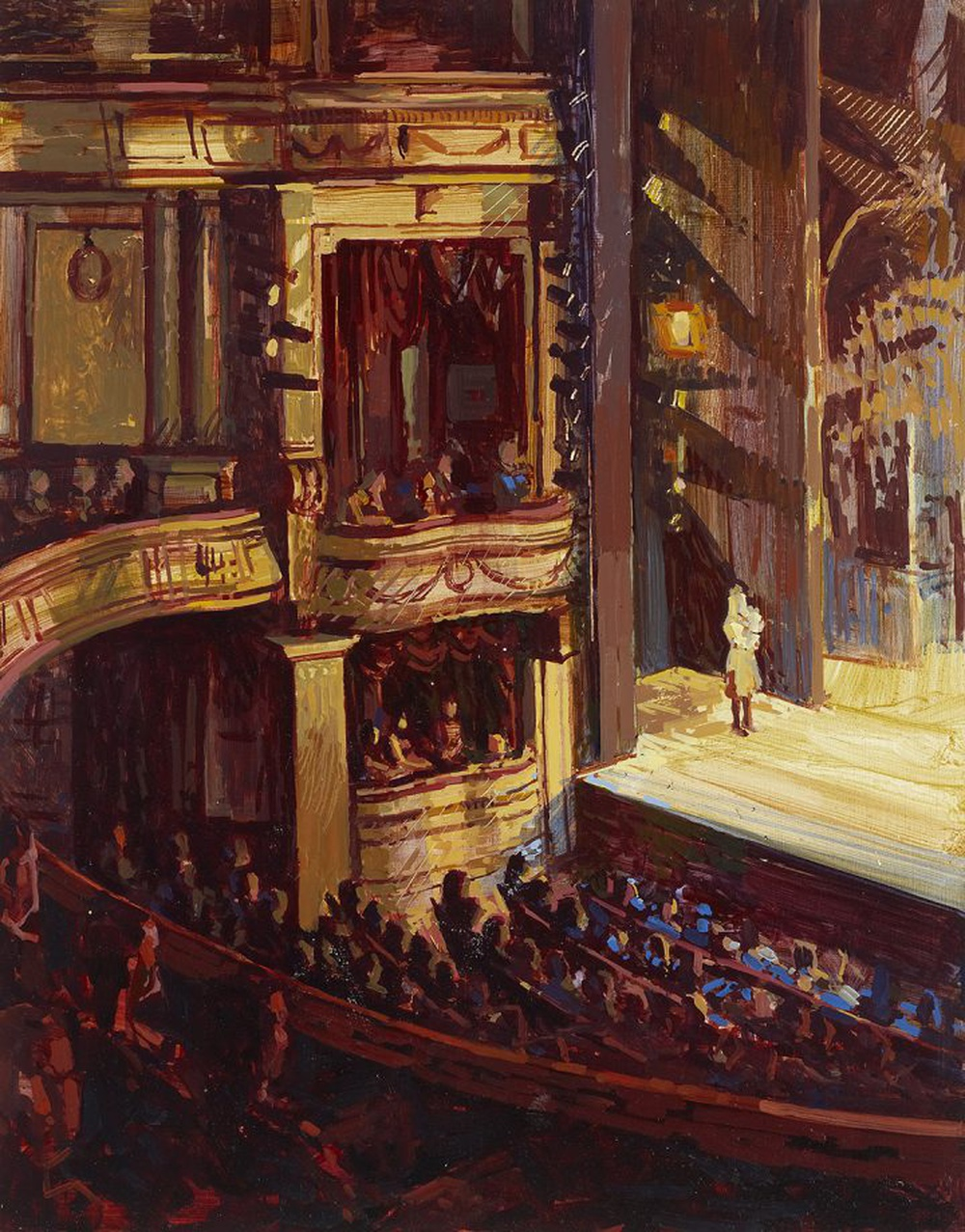 Le vrai plaisir du théâtre, c'est de savoir qu'à tout moment, quelque chose peut mal tourner
