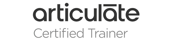 articulate certified trainier