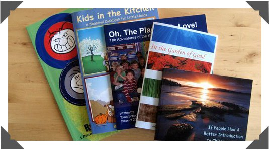 Top Quality, Full Color, Softcover books in a variety of sizes
