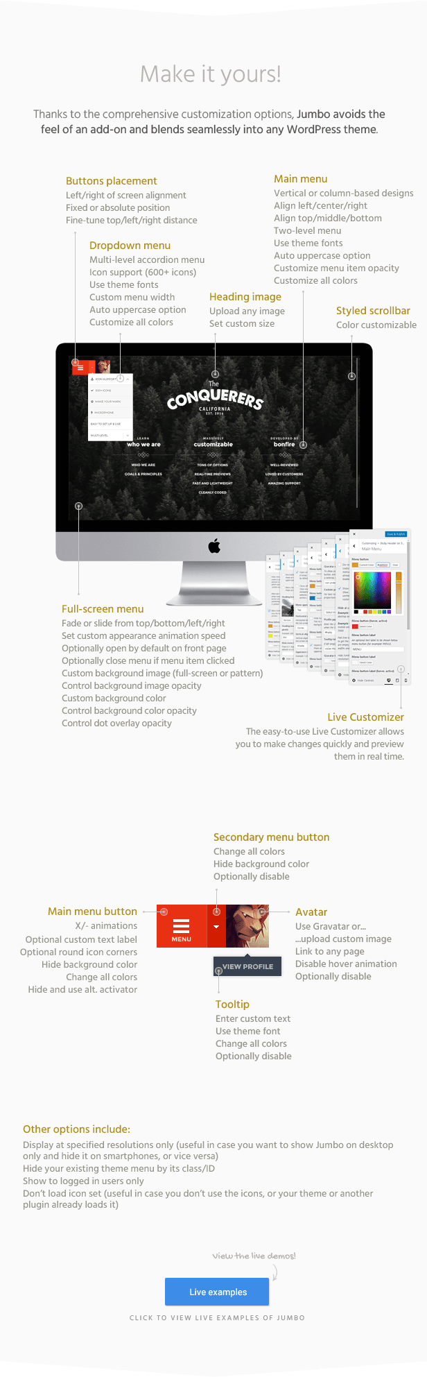 Jumbo: A 3-in-1 full-screen menu for WordPress by BonfireThemes ...