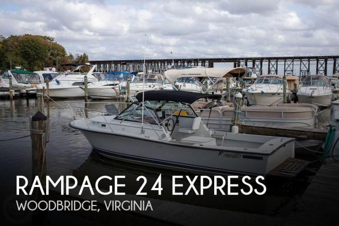 1988 Rampage 24 Express