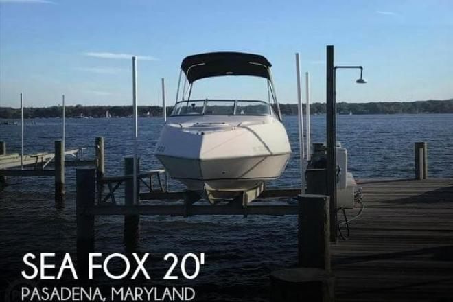 2007 Sea Fox 20 CF Limited Edition