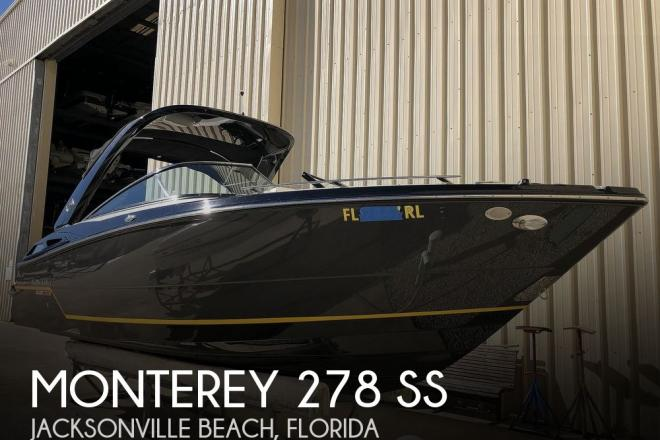2017 Monterey 278 ss - For Sale at Jacksonville Beach, FL 32250 - ID 183201