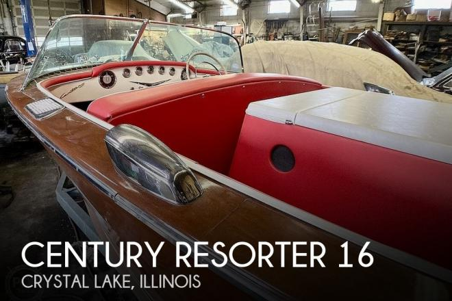 1957 Century Resorter 18 - For Sale at Crystal Lake, IL 60014 - ID 119124