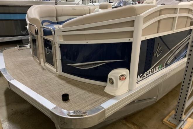 2019 JC Tritoon Neptoon 21TT - For Sale at Richland, MI 49083 - ID 163318