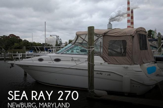 1998 Sea Ray 270 Sundancer - For Sale at Welcome, MD 20693 - ID 175271