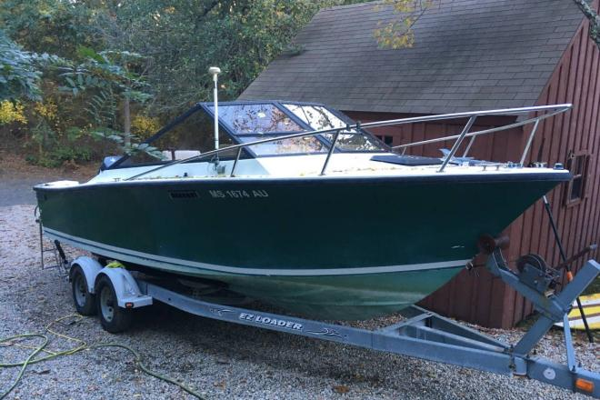 1986 Sea Craft Sceptre 23 - For Sale at Orleans, MA 2653 - ID 201001