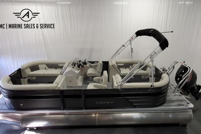 2021 Crest Classic DLX 220 SLC - For Sale at Hamilton, IN 46742 - ID 195810