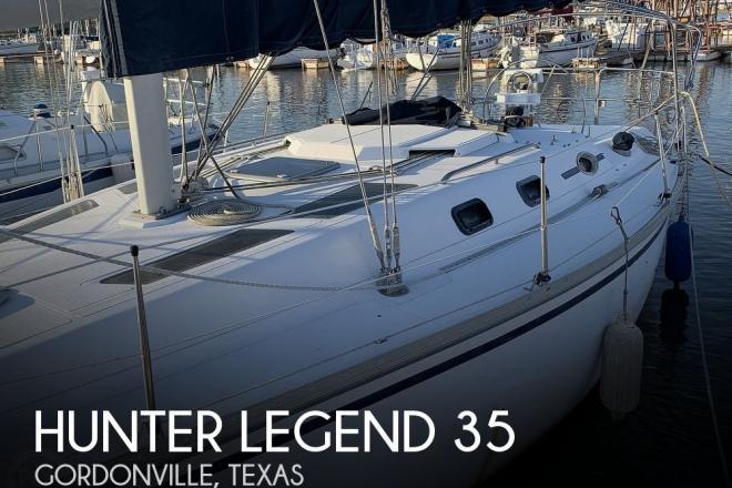 1988 Hunter Legend 35 - For Sale at Gordonville, TX 76245 - ID 179767