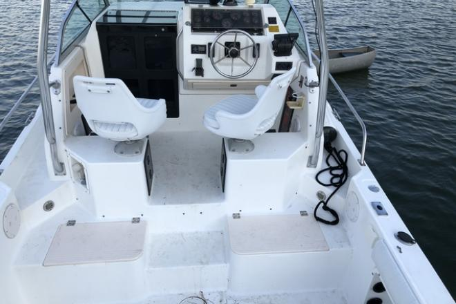 1992 Hydra Sports 2550 - For Sale at Setauket, NY 11733 - ID 201179