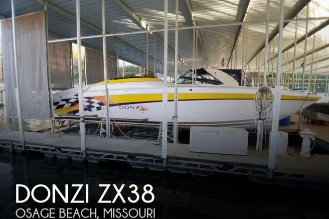 1999 Donzi 38ZX - For Sale at Osage Beach, MO 65065 - ID 200893