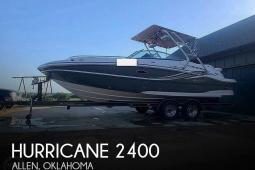 2012 Hurricane 2400 Sun Deck
