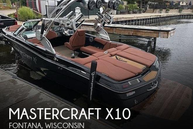 2017 Mastercraft X10 - For Sale at Fontana, WI 53125 - ID 200018