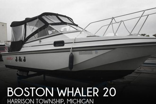 1987 Boston Whaler Revenge 20 W.T. - For Sale at Harrison Township, MI 48045 - ID 196088