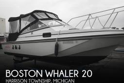 1987 Boston Whaler Revenge 20 W.T.