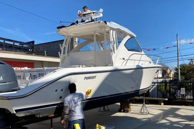 2016 Pursuit OS 355 Offshore - For Sale at Merrick, NY 11566 - ID 201423