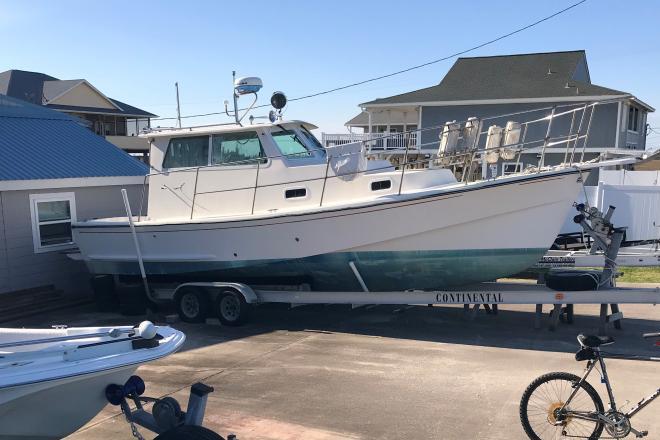 2012 Custom Built Trawler Cruiser - For Sale at Freeport, TX 77541 - ID 201866