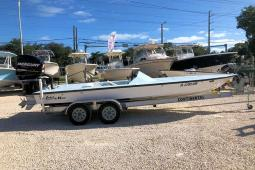 1996 Lake And Bay 20 Boca Grande Bass Edition Flats Boat