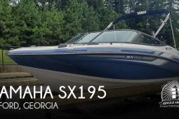 2018 Yamaha SX195