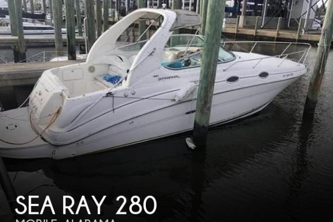 2001 Sea Ray 280 Sundancer - For Sale at Mobile, AL 36605 - ID 195865