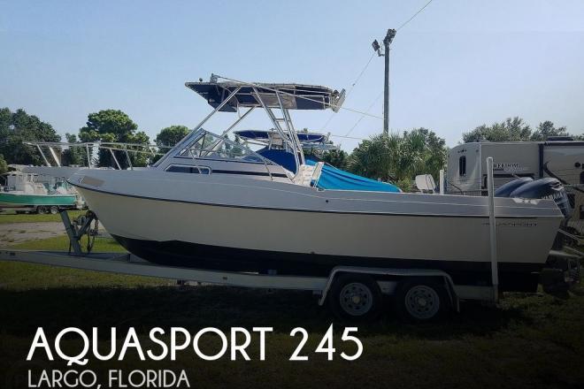 1994 Aquasport 245 Explorer - For Sale at Largo, FL 33774 - ID 135861