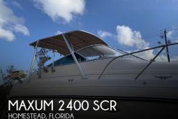 2003 Maxum 2400 SE