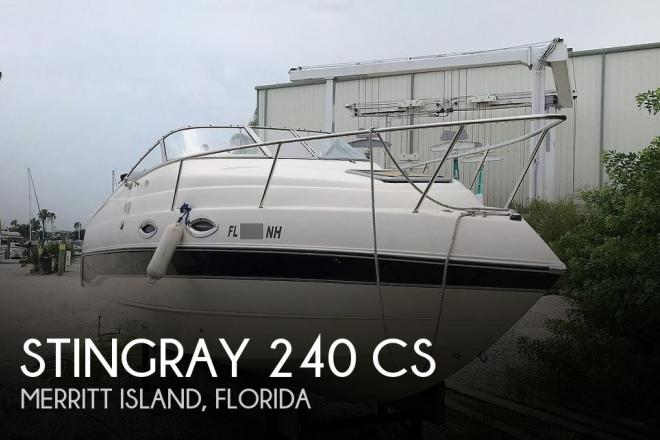 2006 Stingray 240 CS - For Sale at Merritt Island, FL 32952 - ID 185065