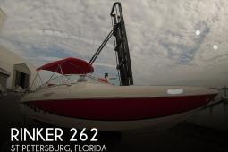 2003 Rinker Captiva 262 SS
