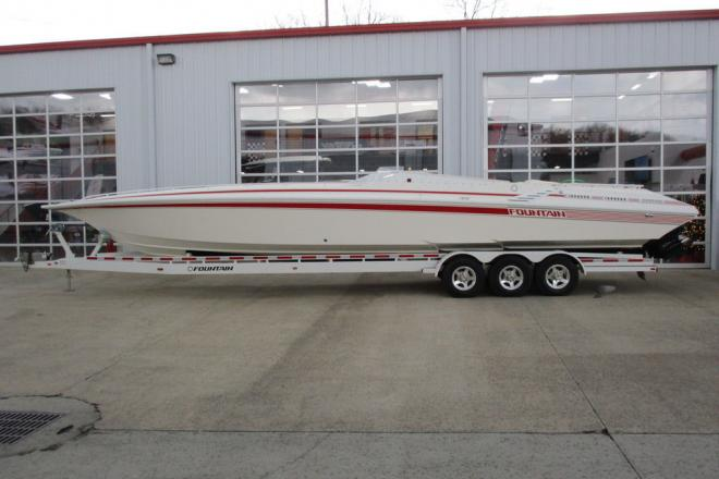 1995 Fountain 42 Lightning - For Sale at Osage Beach, MO 65065 - ID 203105