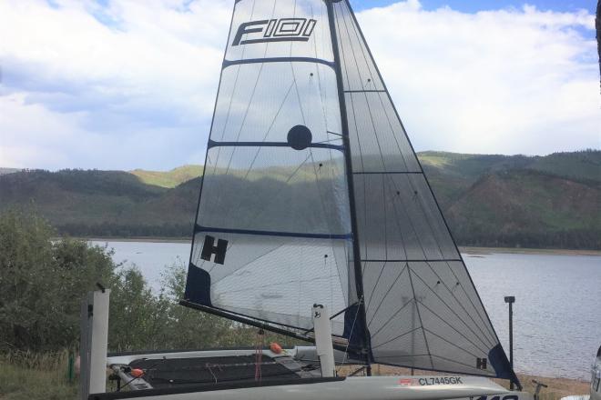 2018 Custom Built Foiling World F101 Sailboat