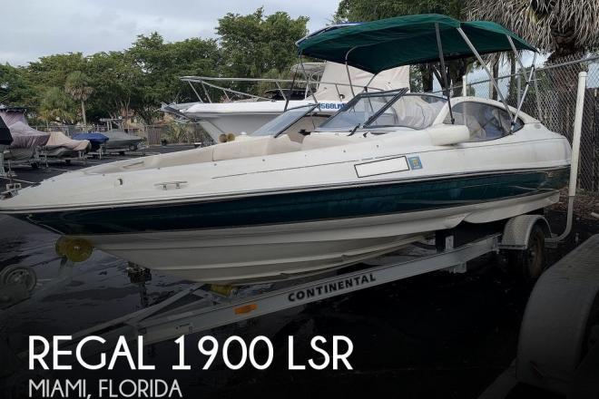 2000 Regal 1900 LSR - For Sale at Miami, FL 33186 - ID 151672