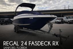 2013 Regal 24 Fasdeck