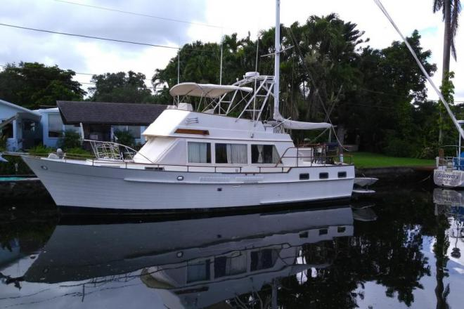 1980 Halvorsen Island Gypsy Trawler - For Sale at Fort Lauderdale, FL 33301 - ID 203425