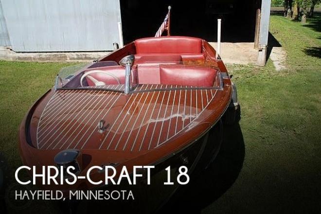 1947 Chris Craft Utility 18