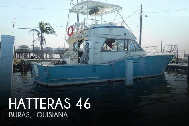 1977 Hatteras 46 Convertible - For Sale at Buras, LA 70041 - ID 203386