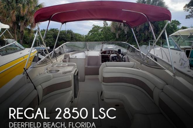 2000 Regal 2850 LSC - For Sale at Deerfield Beach, FL 33441 - ID 193489