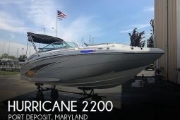 2019 Hurricane 2200 Sundeck