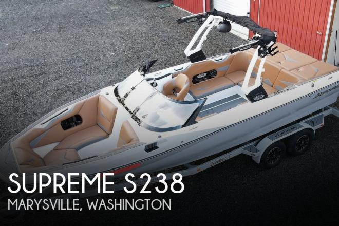 2018 Supreme S238 - For Sale at Marysville, WA 98271 - ID 202982