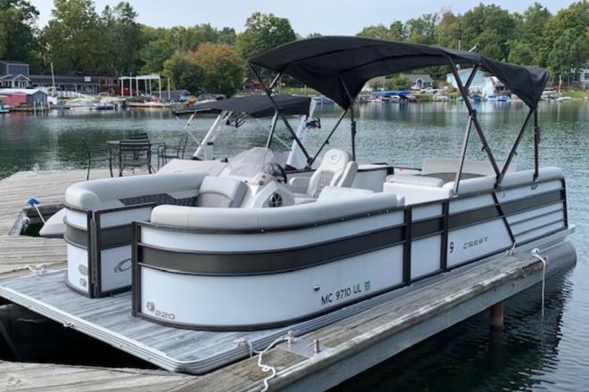 2019 Crest II 220 SLS - For Sale at Richland, MI 49083 - ID 168175
