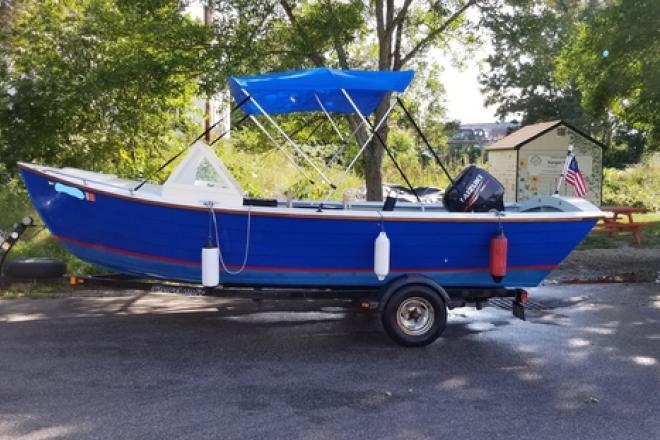 2015 Simmons Sea Skiff High Side 20 - For Sale at Cape Neddick, ME 3902 - ID 203810